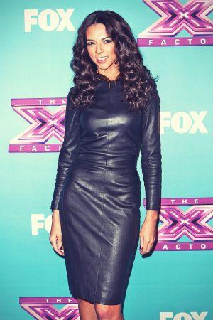 Terri Seymour at Fox's The X Factor Season Finale Night