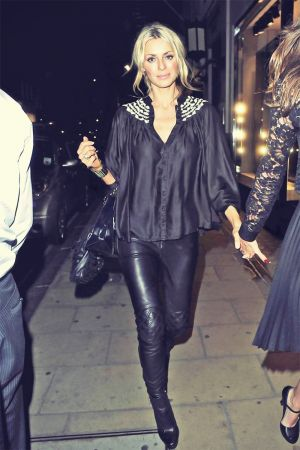 Tess Daly attends the Dolce & Gabbana party