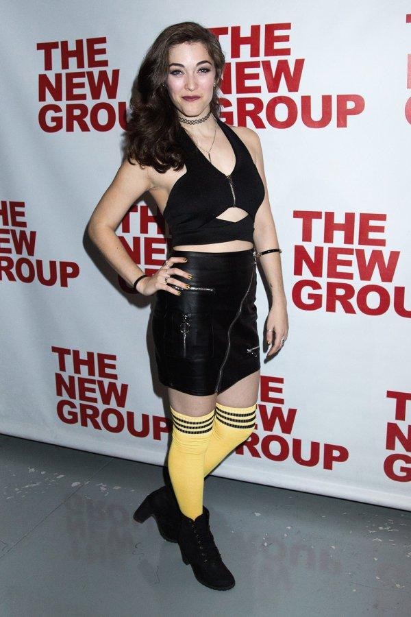 Tessa Grady attends Clueless, The Musical Off Broadway Opening Night