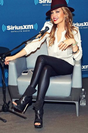 Thalia visits The SiriusXM Studios for SiriusXM's ICONOS With Thalia
