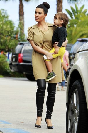 The Kardashians Walks Around San Diego