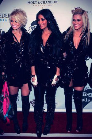 The Pussycat Dolls Opening Night Of The Pussycat Dolls Lounge