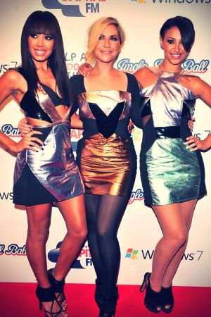 The Saturdays at Capital FM Jingle Bell Ball
