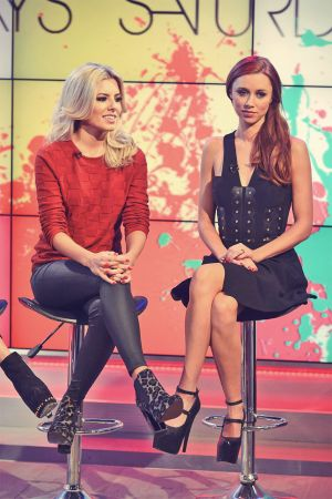 The Saturdays on ITV Daybreak