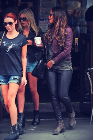 The Saturdays out & about in London