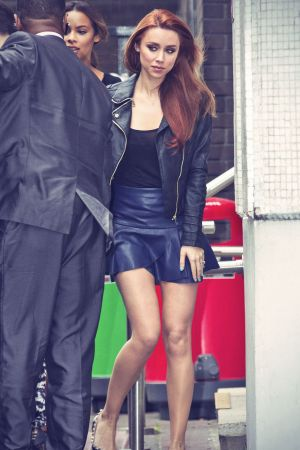 The Saturdays outside the London Studios