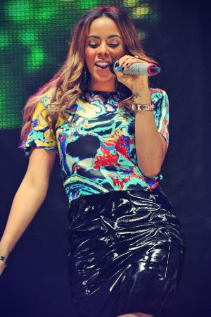 The Saturdays performs Radio Live Birmingham