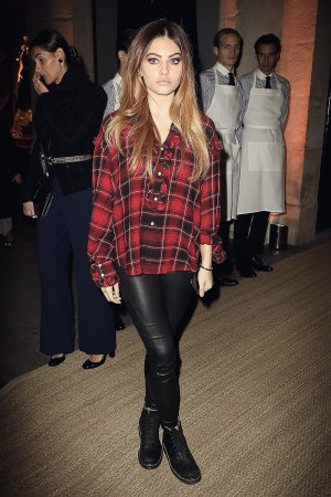 Thylane Blondeau attends the 50 Years of Ralph Lauren Cocktail Party