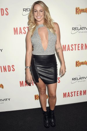 Tiffany Dunn attends the premiere of Relativity Media's 'Masterminds'