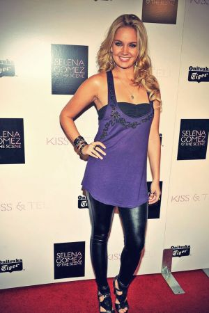 Tiffany Thornton Onitsuka Tiger presents Salena Gomez Album Kiss & Tell release party