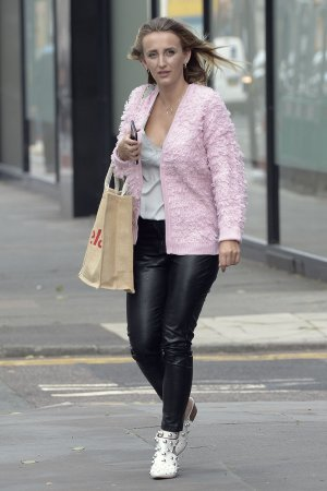 Tiffany Watson out and about in London