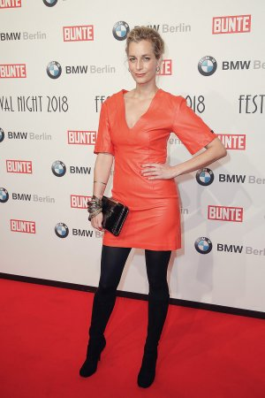 Tina Bordihn attends Bunte & BMW Festival Night