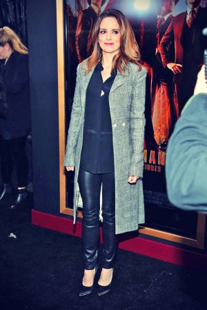 Tina Fey attends the Anchorman 2 The Legend Continues premiere