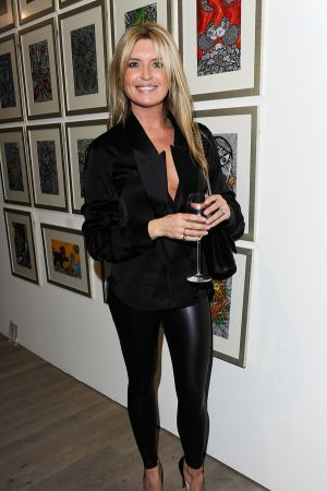 Tina Hobley at Fly To Baku Private View at Philips De Pury Gallery