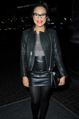 Tisha Merry attends A Jazz Evening with Catherine Tyldesley
