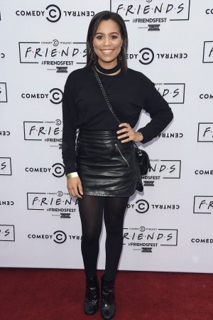 Tisha Merry attends Friends Fest at Heaton Park