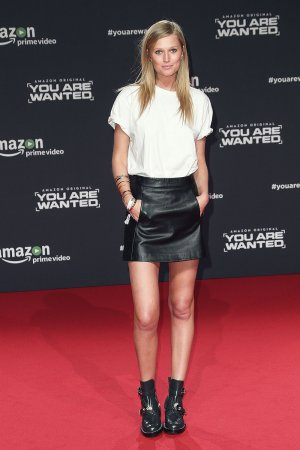 Toni Garrn arrives at Amazon Prime Video's premiere of the series 'You are Wanted'
