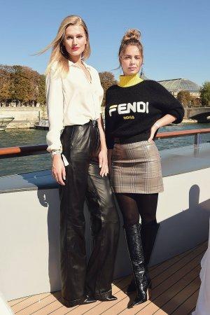 Toni Garrn attends Le Defile L'Oreal Paris