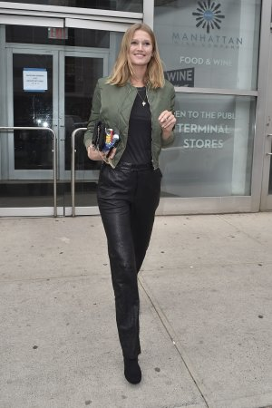 Toni Garrn is seen out in Soho