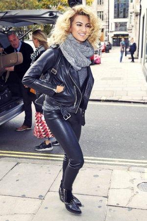 Tori Kelly arriving at the Kiss FM Radio Studios