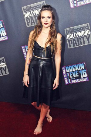 Tove Lo attends Dick Clark's New Year's Rockin' Eve 2016
