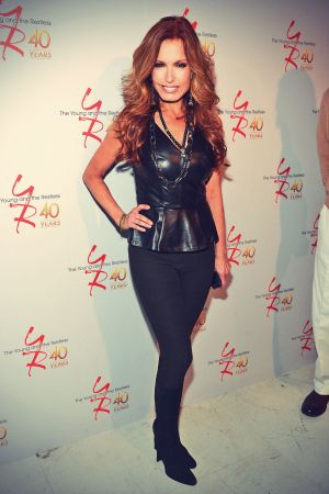 Tracey E. Bregman attends The Young & The Restless 40th anniversary