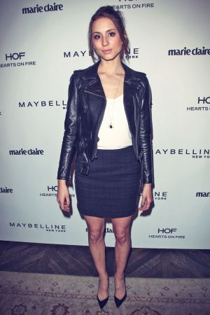 Troian Bellisario atttends Marie Claire's Fresh Faces Party
