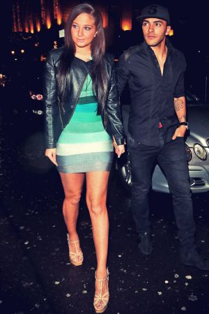 Tulisa Contostavlos at Mahiki Club