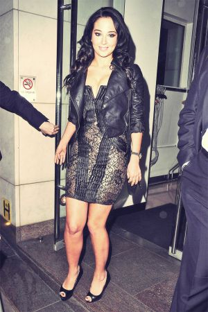 Tulisa Contostavlos at Nobu Berkeley