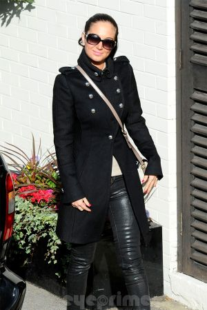 Tulisa Contostavlos at the X Factor Studios in London