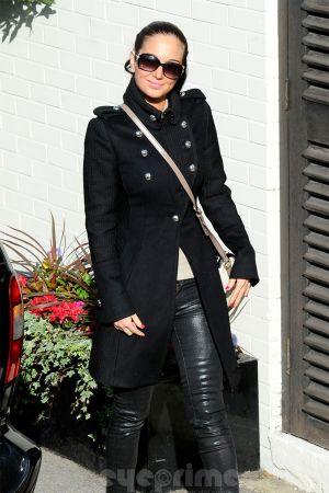 Tulisa Contostavlos at the X Factor Studios in London