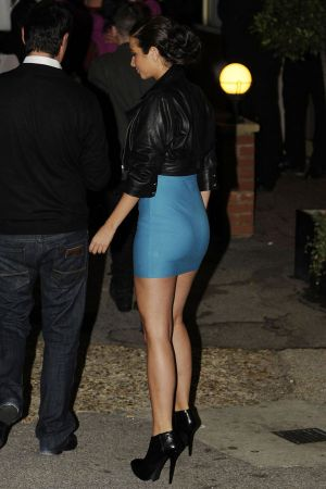 Tulisa Contostavlos at X Factor Studios in London