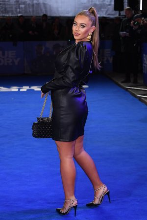 Tyne-Lexy Clarson at Blue Story premiere