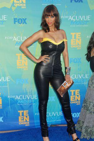 Tyra Banks at Teen Choice Awards 2011