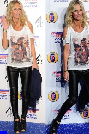 Ulrika Jonsson attends the British Comedy Awards at Fountain Studios in London, England