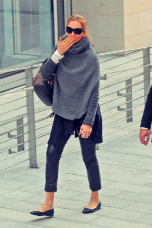 Uma Thurman out and about in Milan