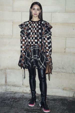 Urassaya Sperbund attends Louis Vuitton show
