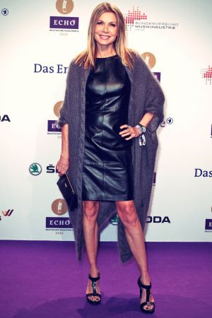 Ursula Karven attends the Echo award 2014