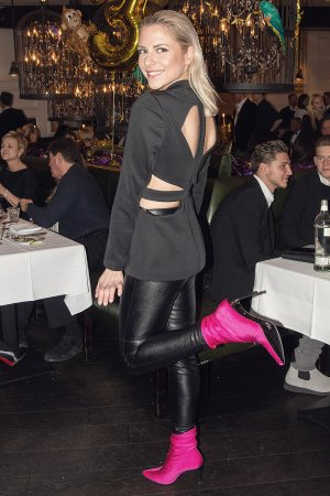 Valentina Pahde attends 3 Years Anniversary of Grace Restaurant