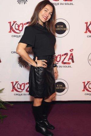 Vanessa Boll attends Cirque du Soleil KOOZA