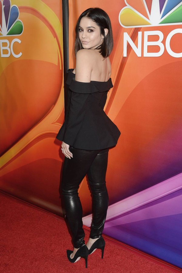 Vanessa Hudgens attends NBCUniversal Winter Press Tour