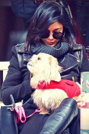 Vanessa Hudgens shopping in NYC