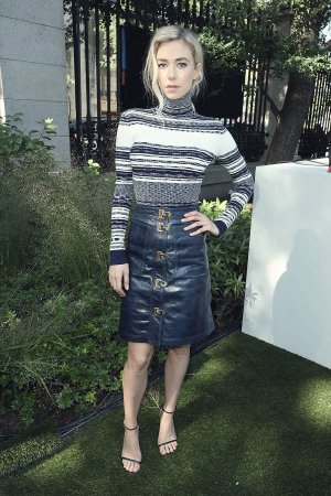 Vanessa Kirby at the Tory Burch S/S2018 show