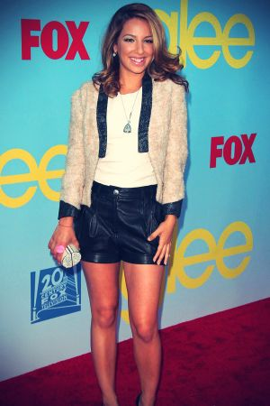 Vanessa Lengies at the fourth season premiere of Glee
