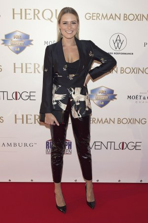 Vanessa Meisinger attends German Boxing Awards