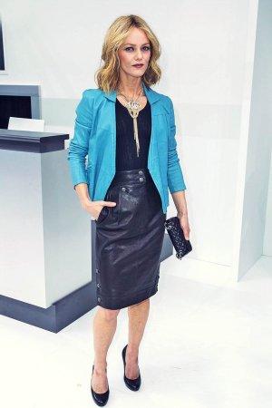 Vanessa Paradis at Paris Fashion Week Womenswear SS 2016
