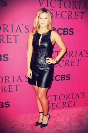 Vanessa Ray attends the 2013 Victoria's Secret Fashion Show