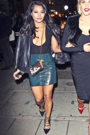 Vanessa White attends Hunger Magazine Party