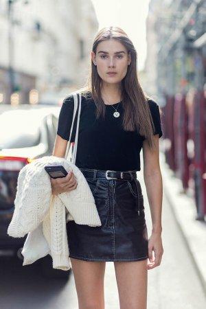 Vera van Erp at at Paris Fashion Week