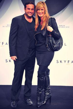 Verena Wriedt at Skyfall Premiere